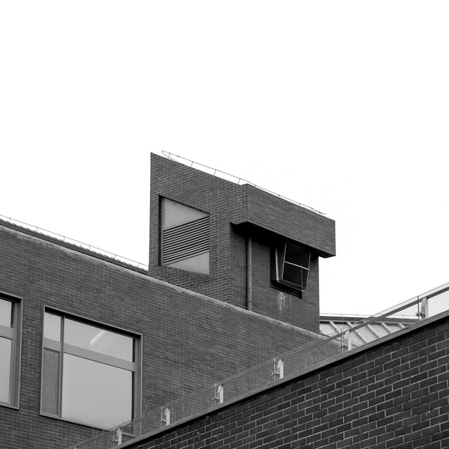 photography-building-black-and-white-architecture-house picture material