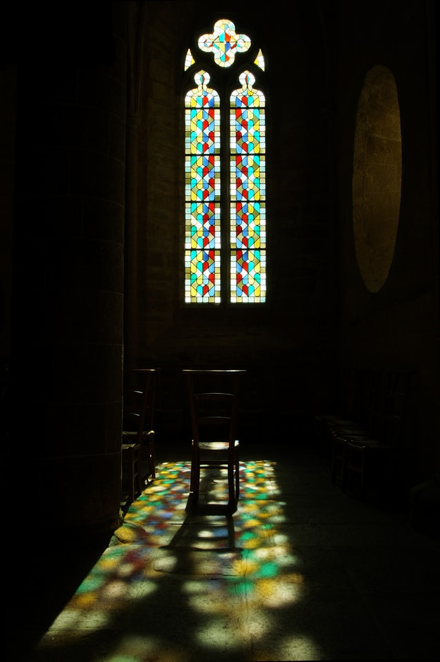 church-chaise-faith-windows-light picture material