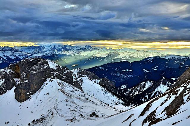 snow-winter-mountain-no-person-ice 图片素材