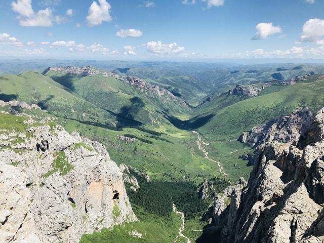zhaina-mountain-mountainous-landforms-mountain-range-ridge 图片素材