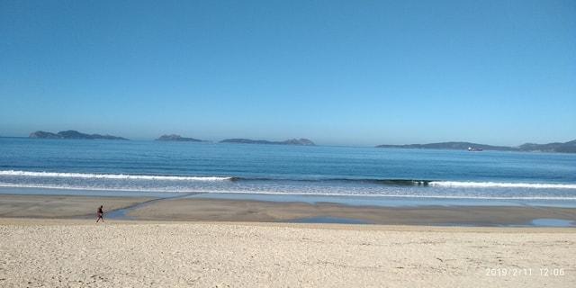 samil-spain-vigo-beach-body-of-water 图片素材