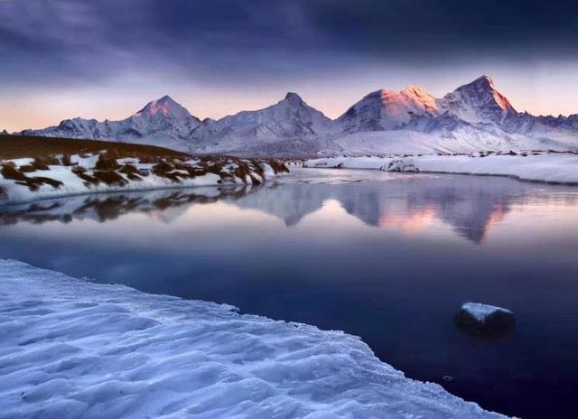 winter-natural-landscape-mountain-nature-mountainous-landforms 图片素材