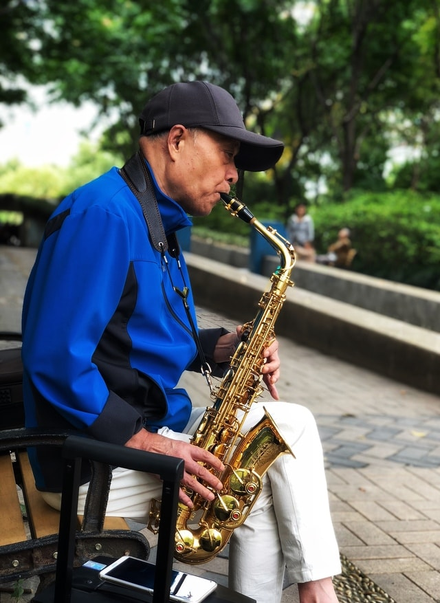 voice-of-spring-saxophone-musical-instrument-saxophonist-wind-instrument picture material