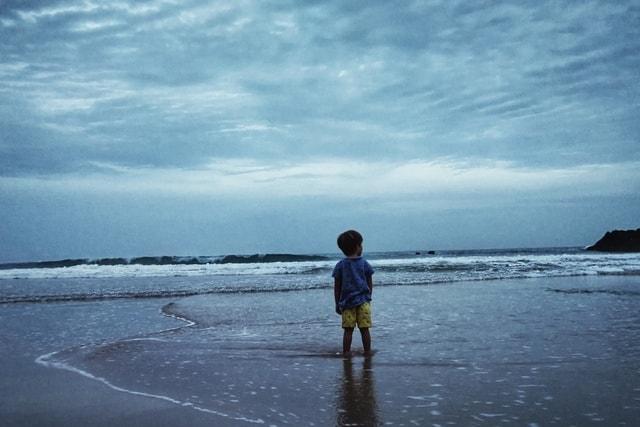 sky-sea-ocean-beach-water picture material