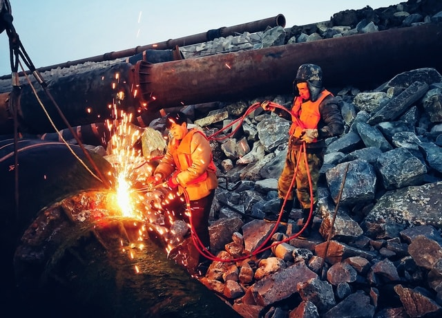 heat-sky-geological-phenomenon-campfire-mountain 图片素材