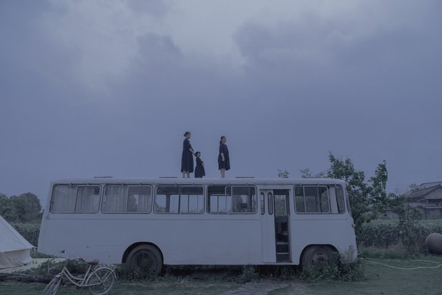 dark-tone-the-film-japanese-mode-of-transport-transport 图片素材