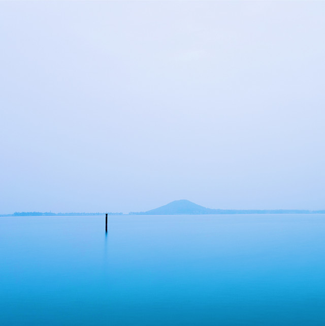 water-sea-fog-sky-nature picture material