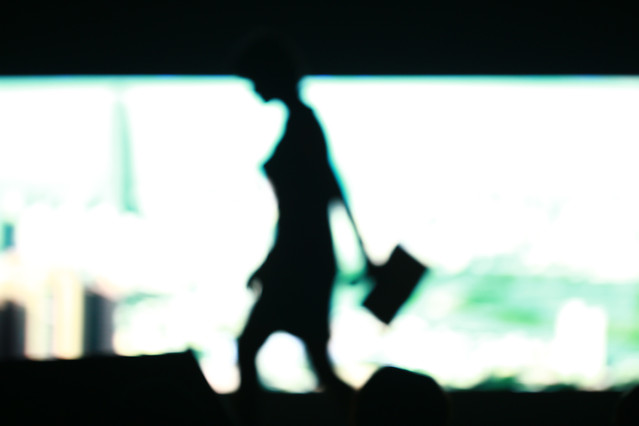 blur-silhouette-desktop-light-abstract picture material