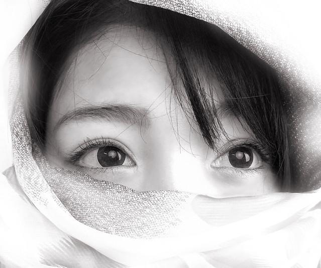 girl-portrait-face-woman-eye 图片素材