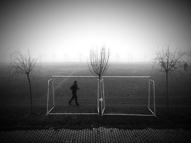 monochrome-silhouette-landscape-black-white picture material