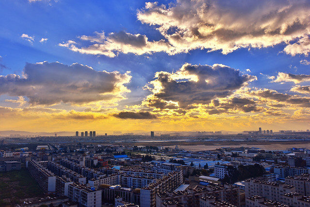 city-skyline-cityscape-architecture-sky picture material