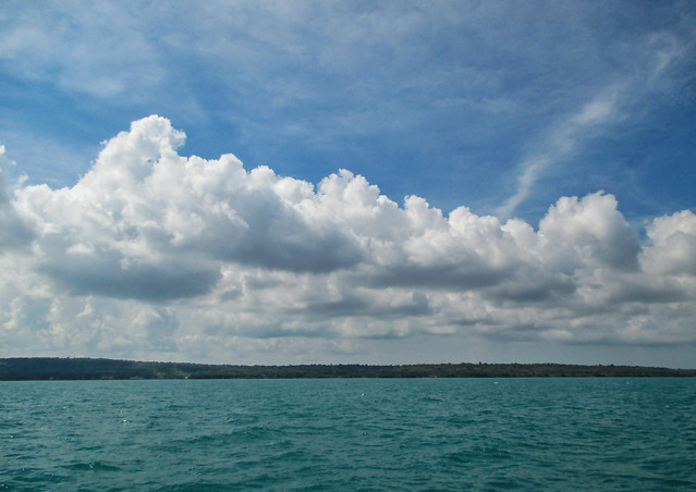 water-no-person-sky-sea-cloud picture material