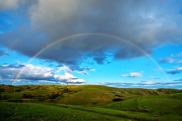 rainbow-landscape-rain-sky-no-person picture material