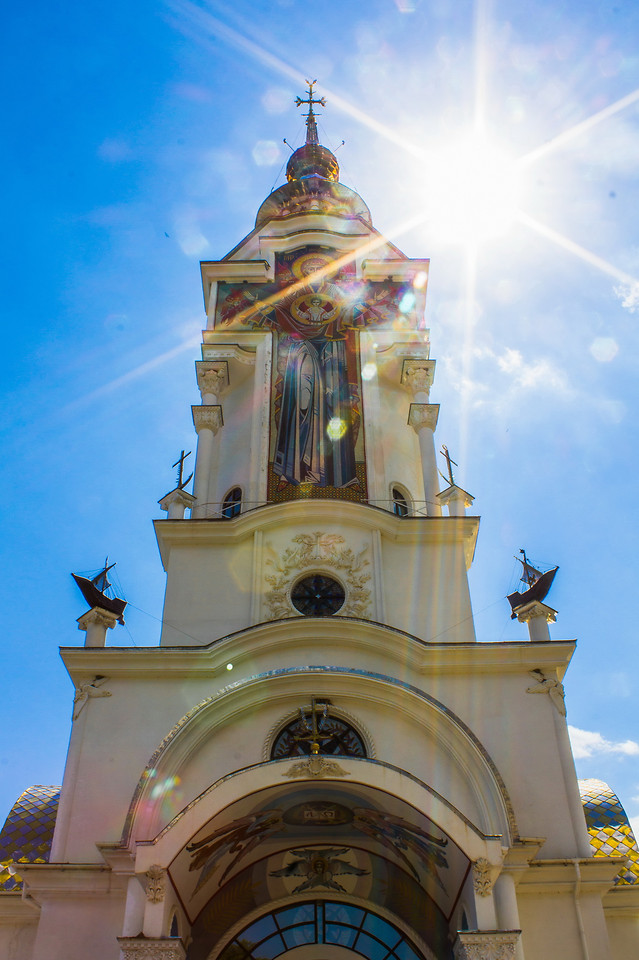 architecture-religion-sky-church-travel picture material