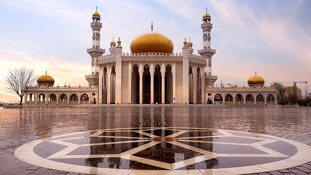 minaret-architecture-dome-religion-travel picture material