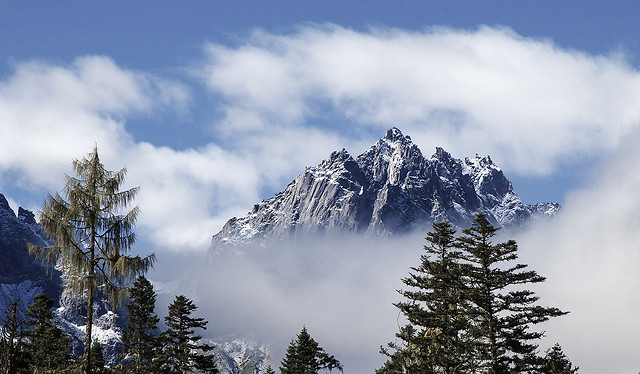 snow-winter-no-person-mountain-sky picture material