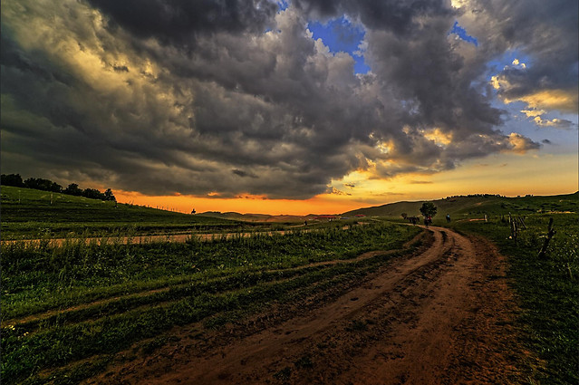 no-person-landscape-sky-sunset-agriculture 图片素材