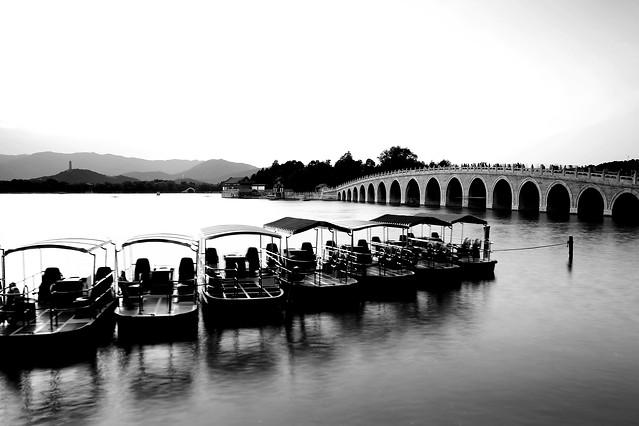 bridge-river-water-reflection-architecture 图片素材