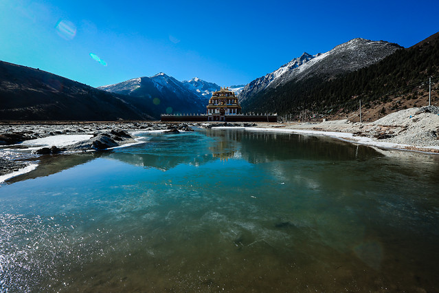 water-no-person-travel-landscape-snow picture material