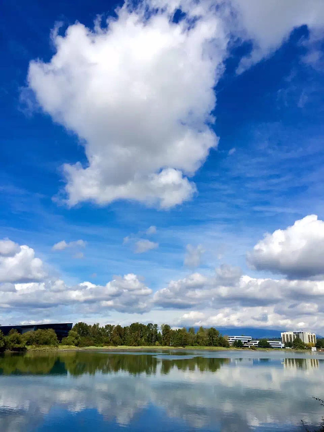 no-person-sky-nature-reflection-cloud picture material