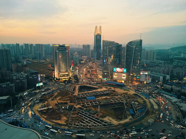 city-skyscraper-metropolitan-area-skyline-cityscape picture material