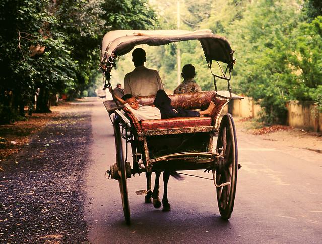 street-traffic-rickshaw-vehicle-mode-of-transport 图片素材