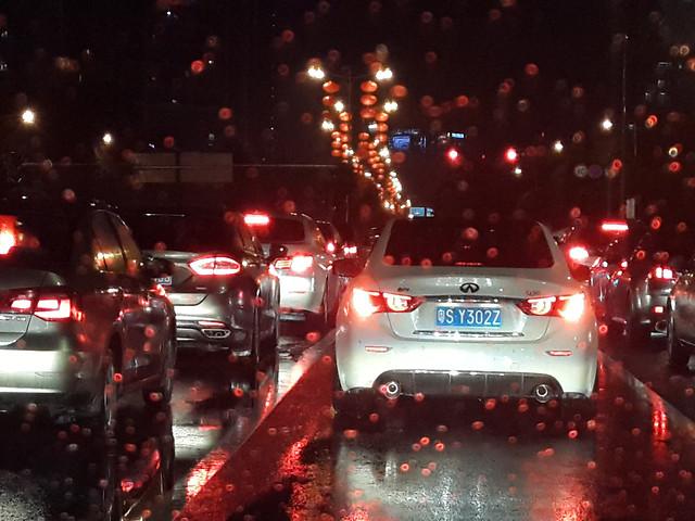 car-road-blur-transportation-system-christmas 图片素材