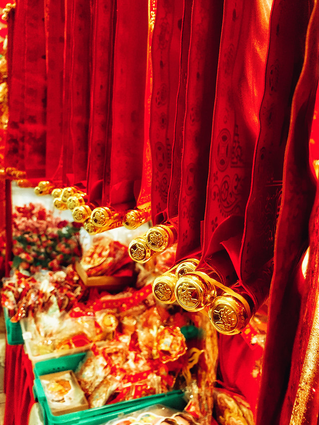 gold-decoration-religion-curtain-no-person picture material
