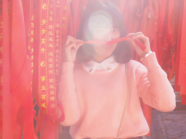 people-red-pink-girl-clothing picture material