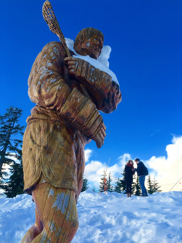 no-person-snow-sculpture-travel-statue picture material