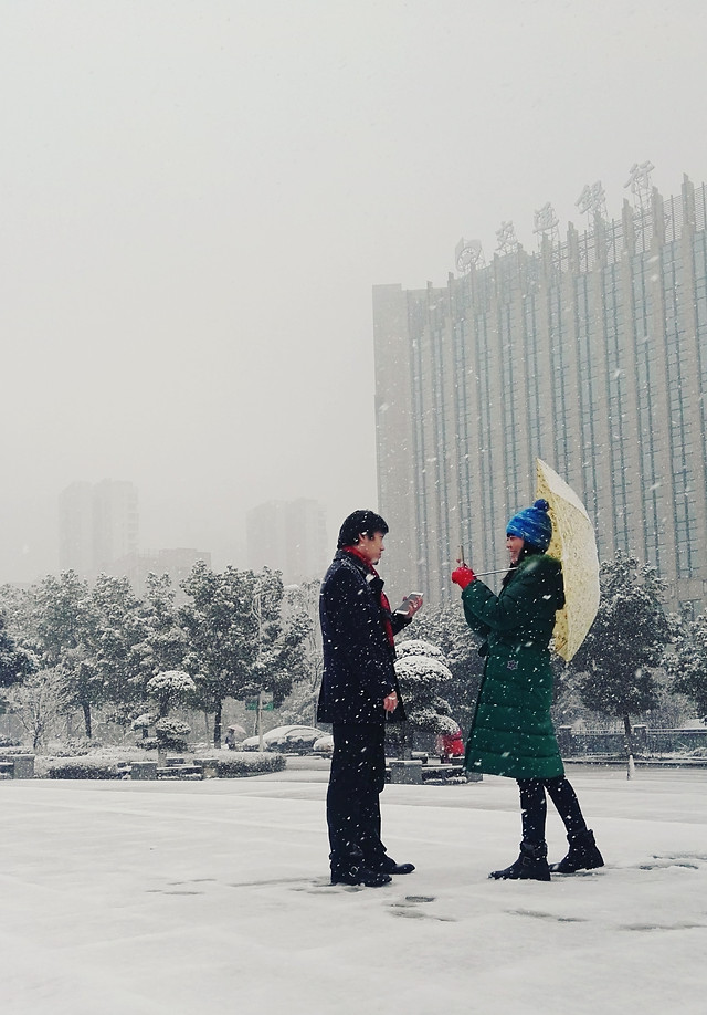 snow-winter-people-man-fog 图片素材