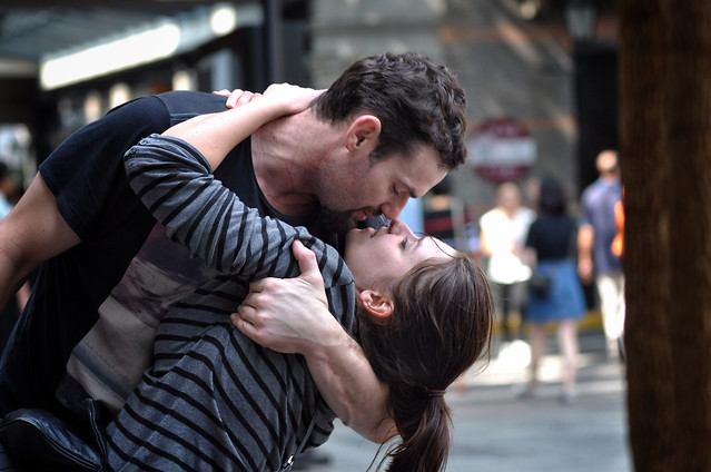 man-people-street-woman-love picture material