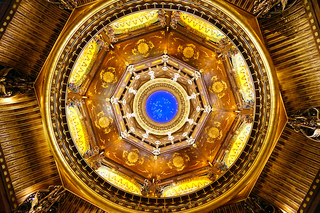 gold-design-ceiling-dome-proportion picture material