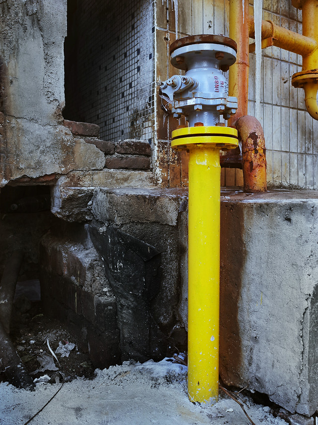 pipe-no-person-tube-industry-yellow picture material