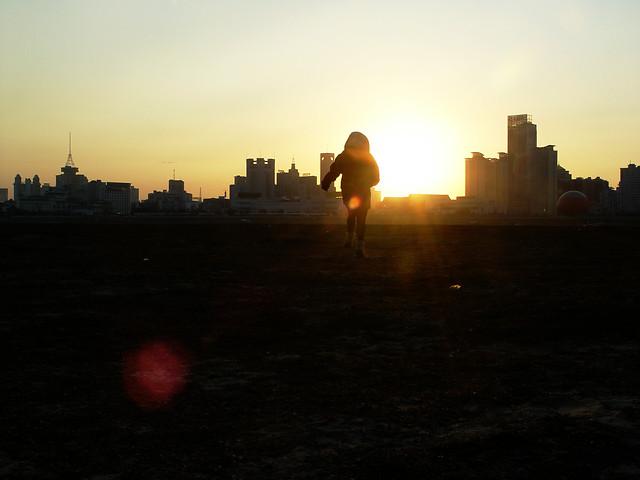 sunset-evening-dawn-silhouette-backlit 图片素材