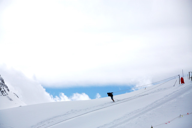 snow-winter-cold-mountain-snowboard 图片素材