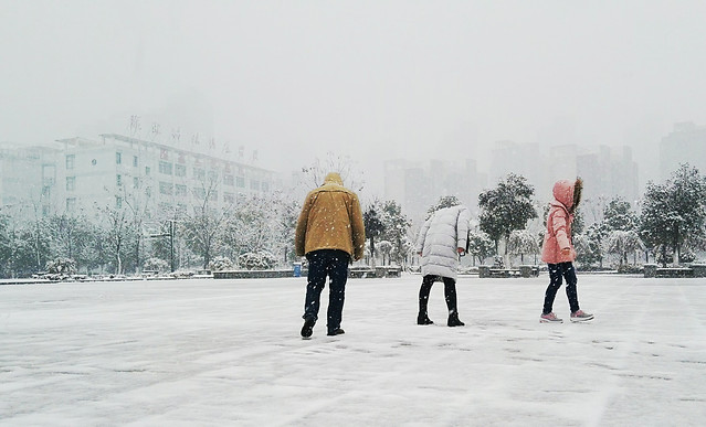 winter-snow-people-cold-child 图片素材