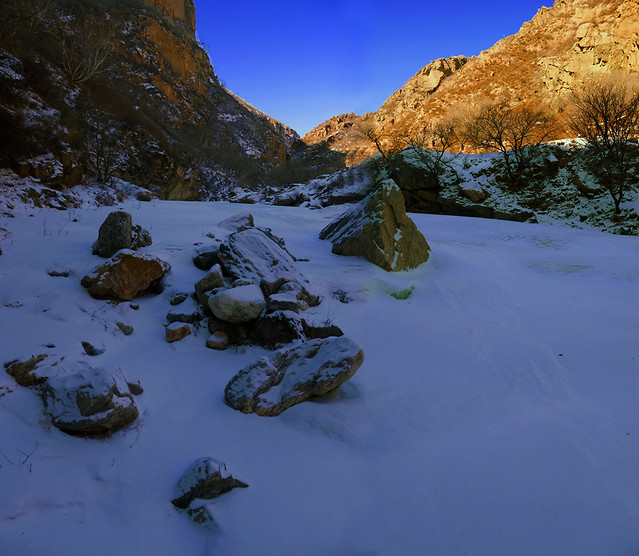 water-no-person-landscape-snow-river picture material