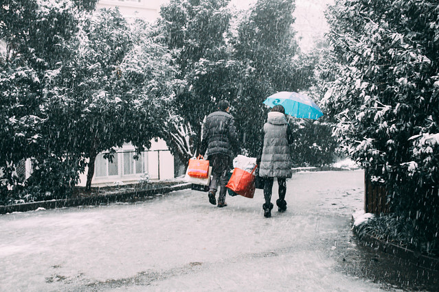 people-tree-snow-photograph-weather 图片素材