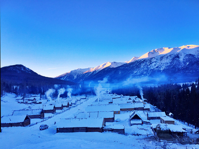 snow-winter-mountain-no-person-sky 图片素材