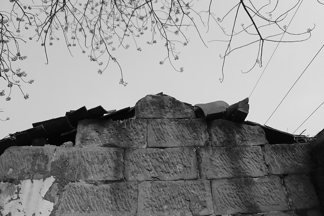 building-black-sky-house-wall picture material