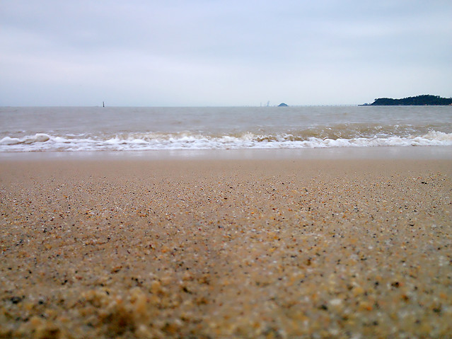 beach-sand-sea-seashore-water 图片素材