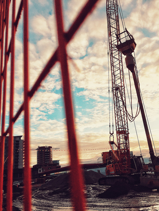 industry-no-person-machine-steel-crane picture material