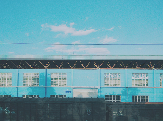 no-person-blue-sky-business-architecture picture material