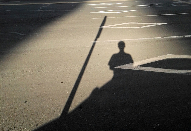 people-road-street-shadow-blur picture material