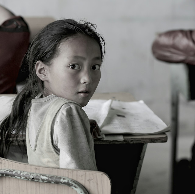 child-people-one-portrait-education 图片素材