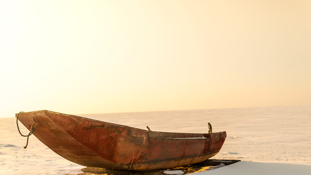 no-person-water-watercraft-boat-sunset picture material