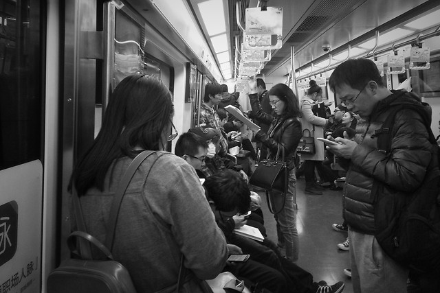 people-train-subway-system-vehicle-transportation-system picture material