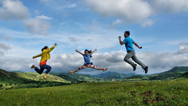 fun-sky-leisure-freedom-happiness picture material