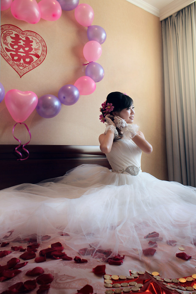 wedding-bride-fashion-love-pink picture material
